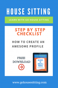 Create an Awesome House Sitting Profile